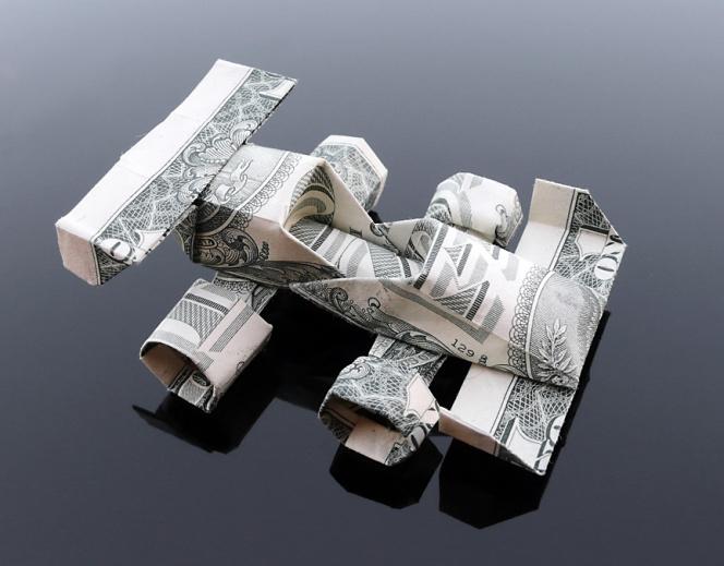 dollar_bill_origami_race_car_by_craigfoldsfives-d4pq1ok
