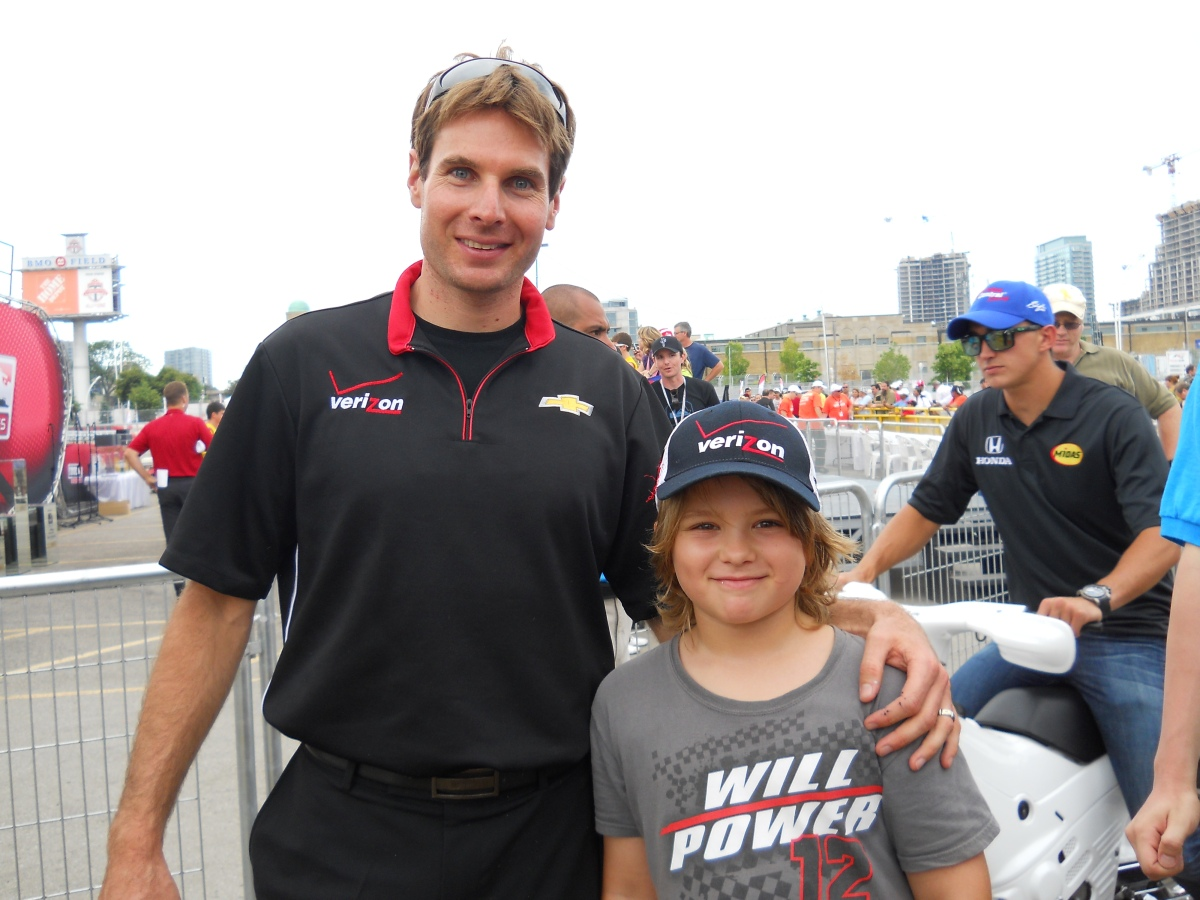 Daniel Demaras Will Power 2012