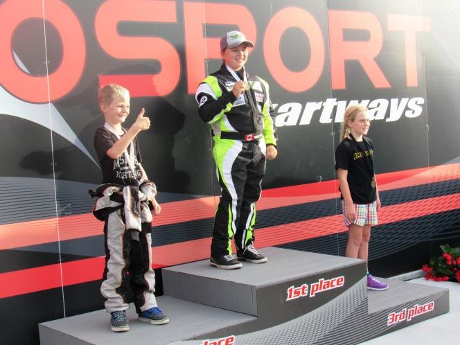 Daniel Demaras 1st place Mosport Race 4