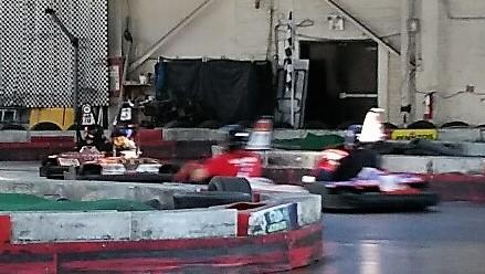 A close battle between Matte, Francesca, Chris and Luigi.