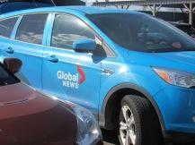 Global news crew
