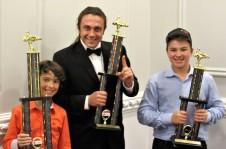 Matte, Kris and Daniel